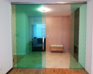 Sklenené posuvné dvere - 3