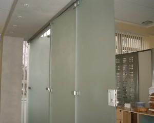 Sklenené posuvné dvere - 46