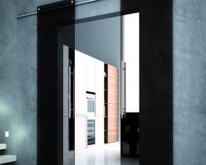 Sklenené posuvné dvere - 35
