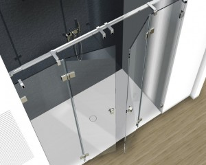 Sklenené sprchové boxy - 27