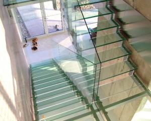 Sklenené schodiská - 2