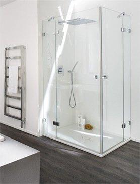 sklenené sprchové boxy